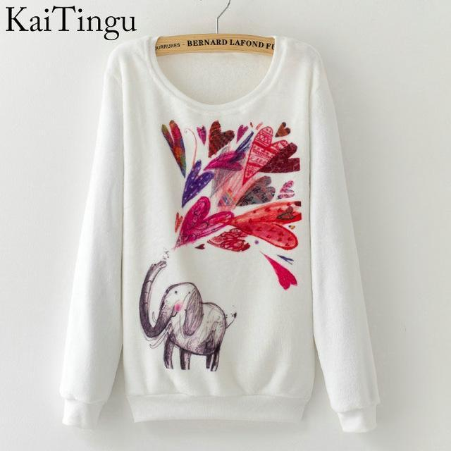 Women Colorful Printed Warm Sweatshirt-FZ0131-One Size-China-JadeMoghul Inc.