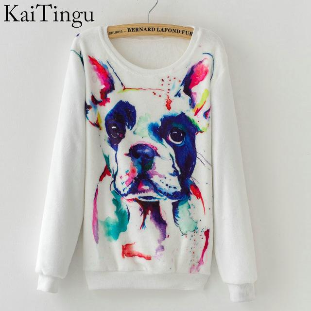 Women Colorful Printed Warm Sweatshirt-FZ0135-One Size-China-JadeMoghul Inc.