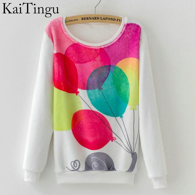 Women Colorful Printed Warm Sweatshirt-FZ0136-One Size-China-JadeMoghul Inc.