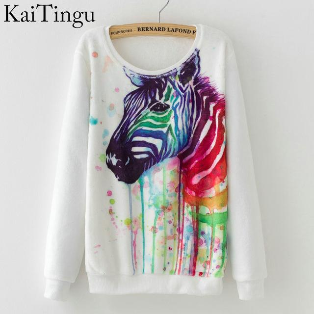 Women Colorful Printed Warm Sweatshirt-FZ0145-One Size-China-JadeMoghul Inc.