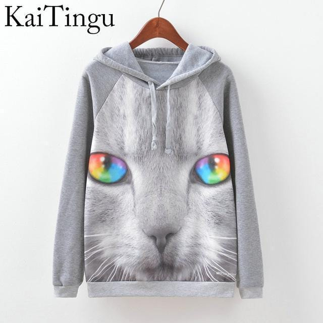 Women Fun Prints Colorful Hoodies-TPG507-L-JadeMoghul Inc.