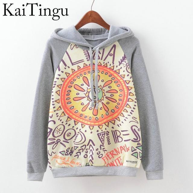Women Fun Prints Colorful Hoodies-TPG517-L-JadeMoghul Inc.