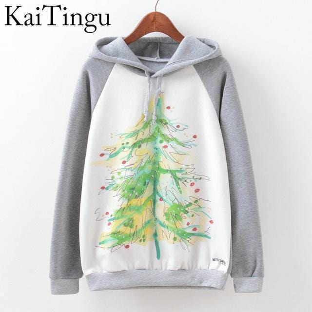 Women Fun Prints Colorful Hoodies-TPG596-L-JadeMoghul Inc.