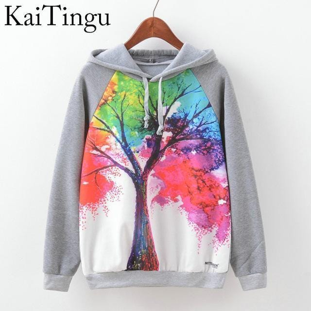 Women Fun Prints Colorful Hoodies-TPG597-L-JadeMoghul Inc.