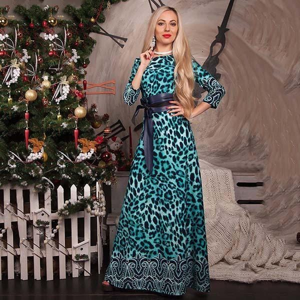 Women Long Dress - Print Dresses Long Floor-as picture_10-S_10-China_10-JadeMoghul Inc.