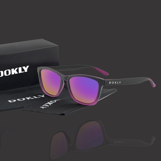 Women Polarized Reflector Square Sunglasses With 100% UV 400 Protection-dokly04-no package-JadeMoghul Inc.
