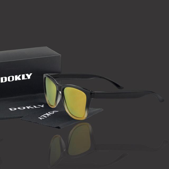 Women Polarized Reflector Square Sunglasses With 100% UV 400 Protection-dokly13-no package-JadeMoghul Inc.
