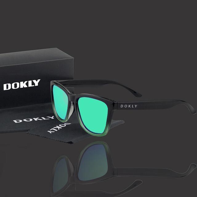 Women Polarized Reflector Square Sunglasses With 100% UV 400 Protection-dokly17-no package-JadeMoghul Inc.