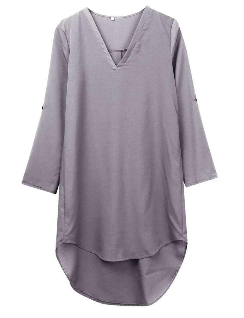 Women's Loose Casual Vintage Chiffon Dress AExp