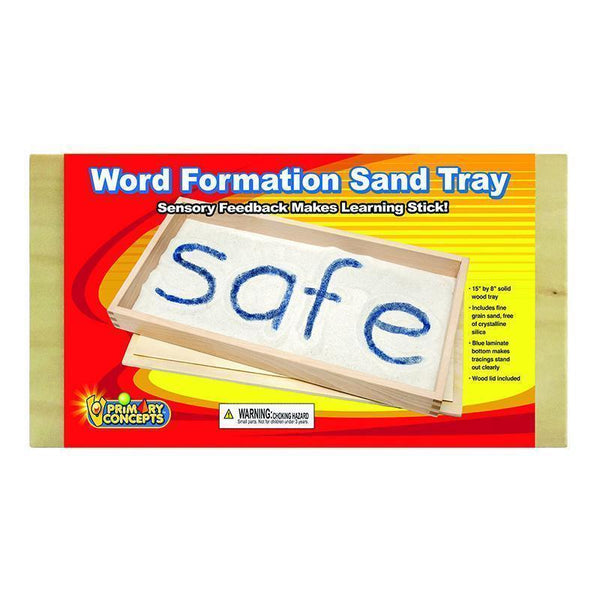 WORD FORMATION SAND TRAY SINGLE-Learning Materials-JadeMoghul Inc.