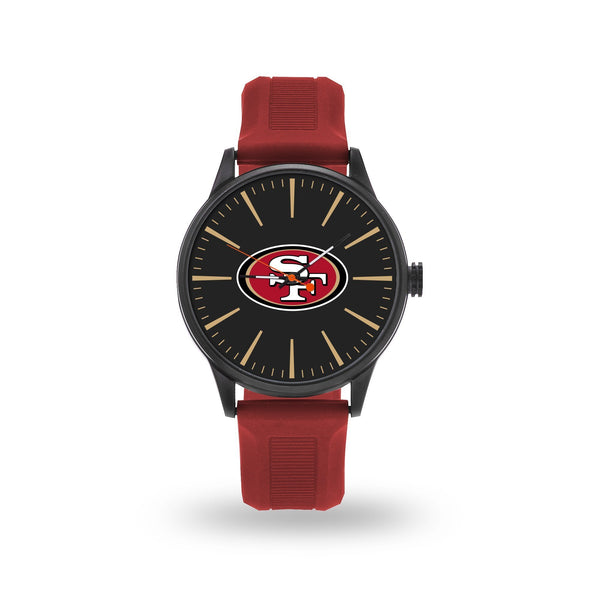 Watches For Men On Sale 49ers Cheer Watch With Red Watch Band