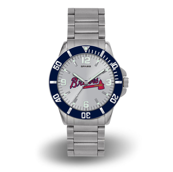 BRAVES SPARO KEY WATCH - MLB-WTKEY Sparo Key Watch-JadeMoghul Inc.
