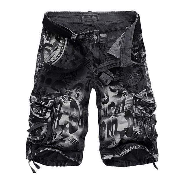 WZZAE 2017 New Design Men Summer Camouflage Military Cargo Shorts Bermuda Masculina Jeans Male Fashion Casual Baggy Denim Shorts AExp