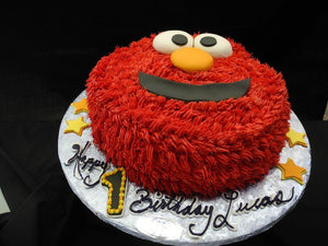 Elmo Face Cake Cream - CS0022