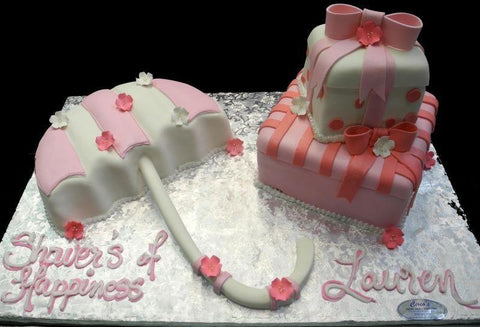 Umbrella and Gift Boxes - BS312