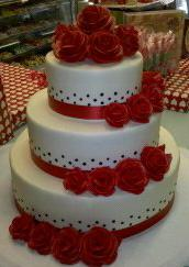 Wedding Cake Red Velvet - W066
