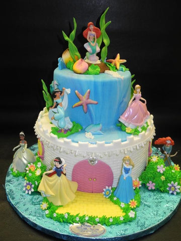 Princess Castle Cake - B0007