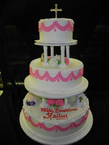 Religious Cake 3 Tier Whip Cream - R019