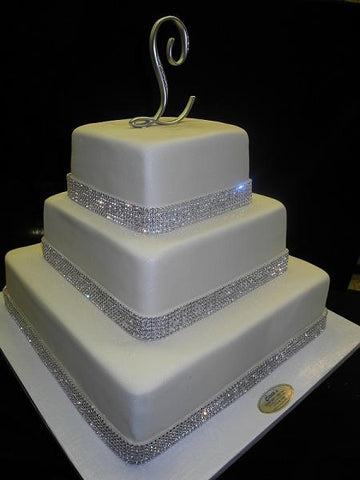 Crystal Wedding Cake - W154