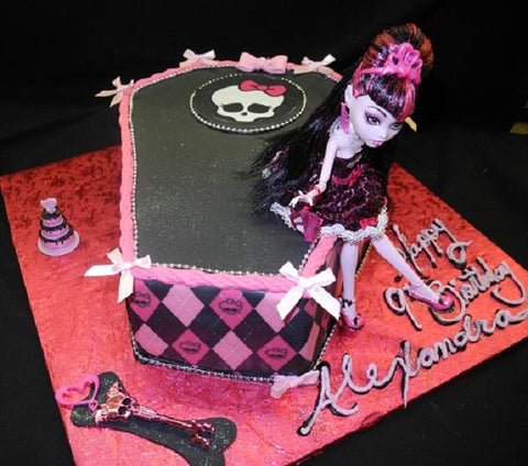Monster High Cake 1 - B0498