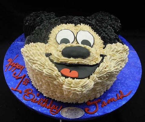 Mickey Mouse Cream Cake - B0179