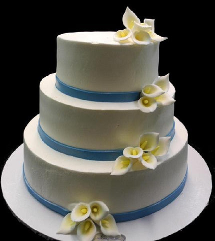 Calla Lilly Wedding Cake Cream - W159
