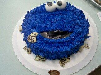 Cookie Monster Cake - CS0234