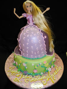 Disney Character Tangled Birthday Cake - B0158