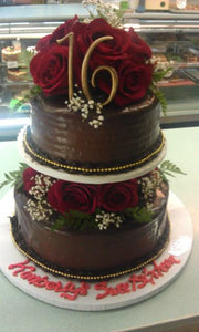 Sweet Sixteen Cake Chocolate - B0295