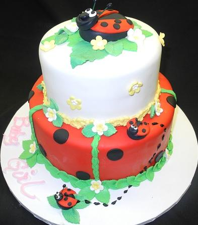 Lady Bug Cake - BS030