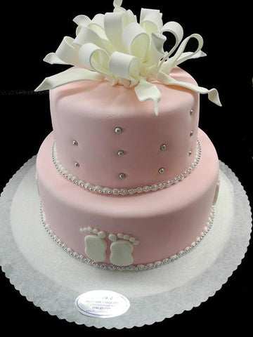 Girl Baby Shower cake - BS034