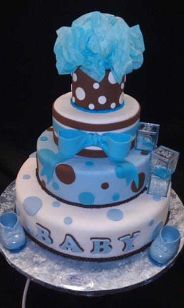 Boy Baby Shower cake - BS149