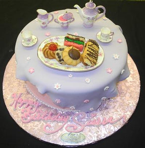 Tea Party Cake - BS301