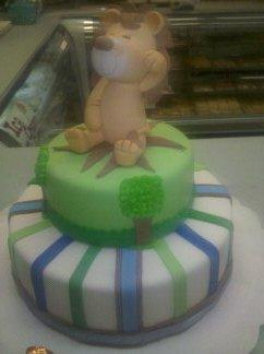 Animal Lion Theme Baby Cake - BS064