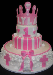 Princess Crown Cake - B0416