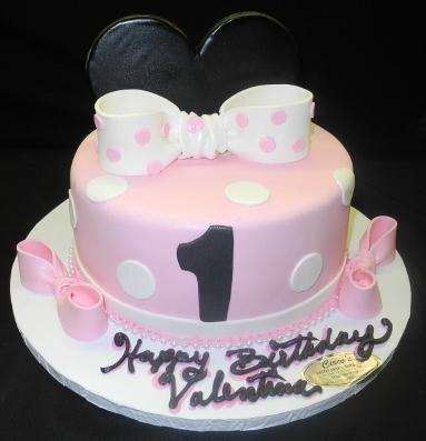 Mini Mouse 1 Tier Cake - B0061