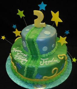2nd Birthday Cake - B0818