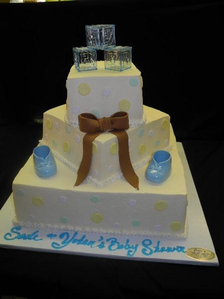 Baby Boy Cake Cream - BS083