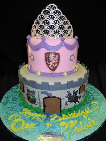 Knights and Princess Cake - B0573