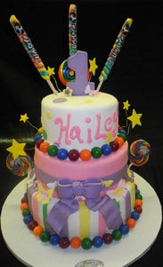 1st Birthday Cake - B0830