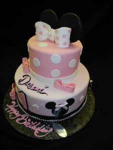 Mini Mouse Birthday Cake - B0512