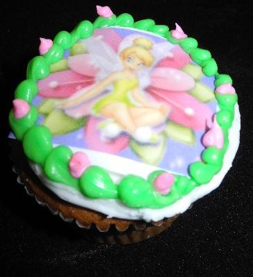 Tinkerbell Cup Cake - CC040