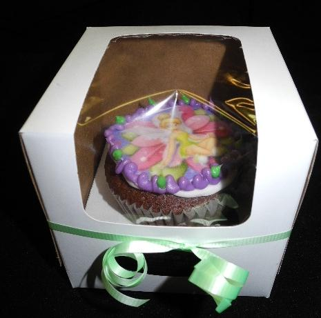 Tinkerbell Cup Cake in Box - CC039