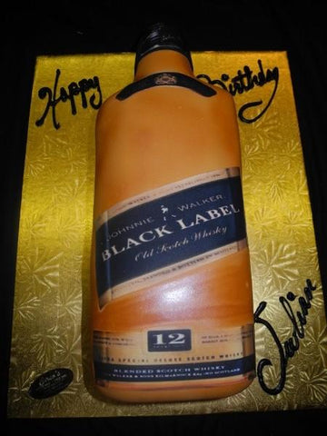 Johny Walker Black Lable Cake - CS0027
