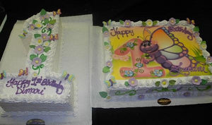 Affordable 1st Birthday Cakes - B0797