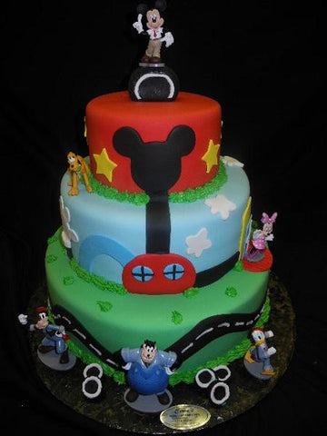 Birthday Cake Mickey Mouse Theme - B0769