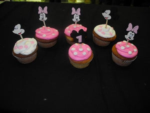 Mini Mouse Cup Cakes - CC065