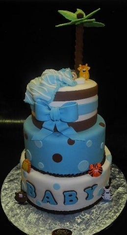 Cutest Boy Baby Shower Cakes - BS168