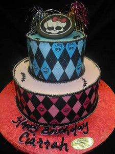 Monster High Cakes - B0048