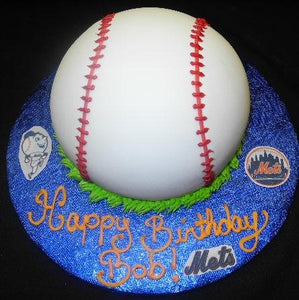 Mets Baseball Cake - CS0150